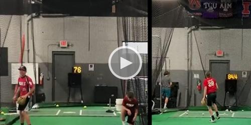 Baseball Velocity gain