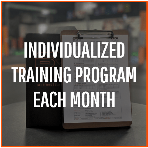 Individualized-Training-Program-Each-Month